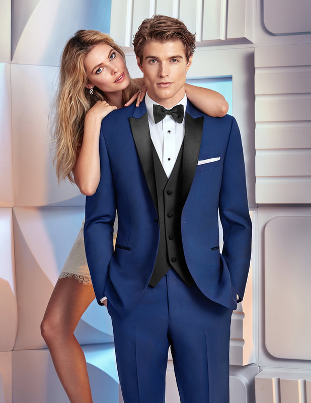 Navy, Blue, Royal, Tux, Tuxedo, Slim Fit, Modern, fit,